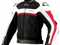 Komine JK-061 Leather Mesh Jacket TITANI