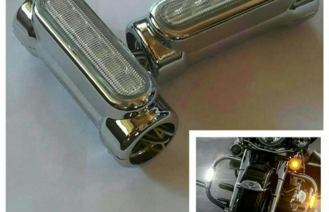 Lampu engine guard harley