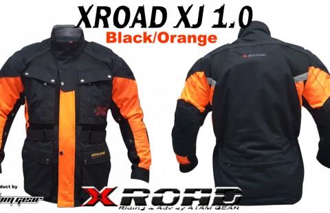 XROAD XJ 1.0 ORANGE  jacket