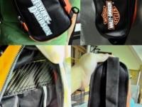 Tas Punggung & Dada Orange Harley Logo