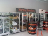 Aksesoris dan merchandise harley