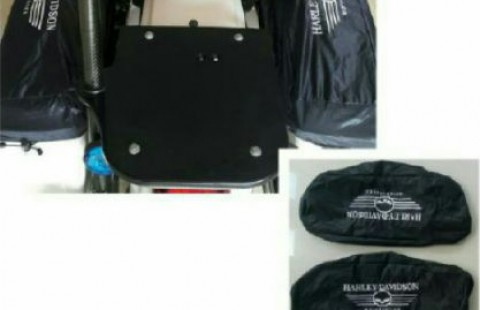 Cover saddlebag harley(sepasang)