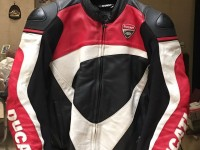 Ducati Corse Leather Jacket Size 52