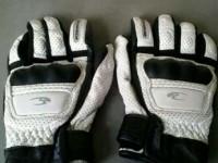 Sarung tangan kulit KOMINE GK-120 hitam