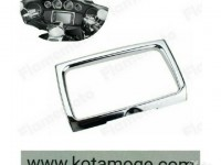 Chrome radio trim harley