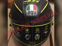 Helm AGV Pista GP Carbon 46 Project XL