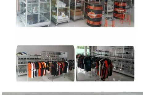 Accessories dan merchandise harley