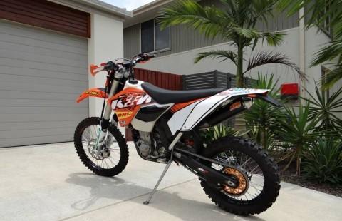 KTM EXC 450cc