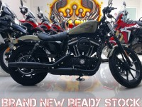 HD Sportster Iron 883 Thn 2016 (SOLD)