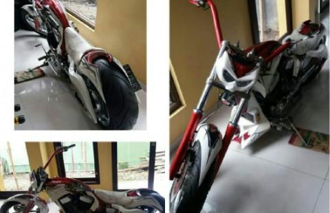 Suzuki intruder chopper 1400 cc